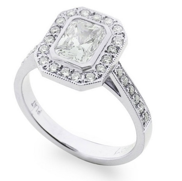 Louis the Goldsmith | statement silver engagement ring