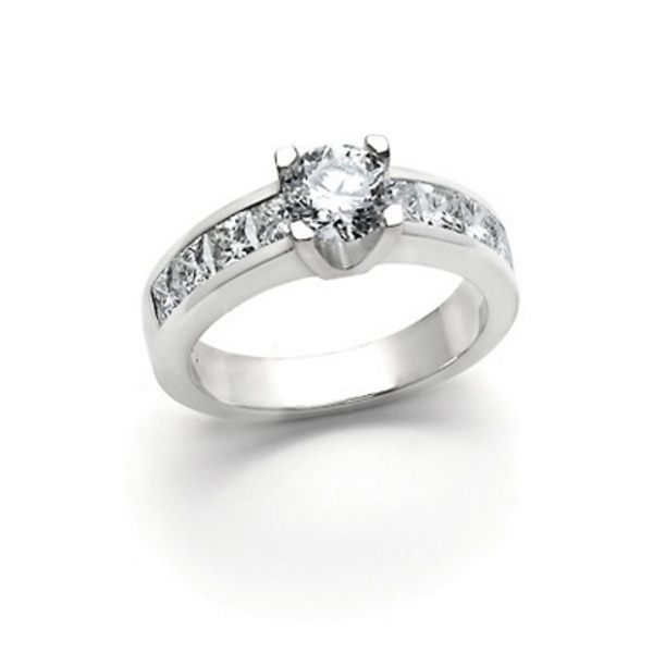 Louis the Goldsmith | single square cut diamond engagement ring